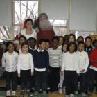 Nicolas Noël et la classe 1B
